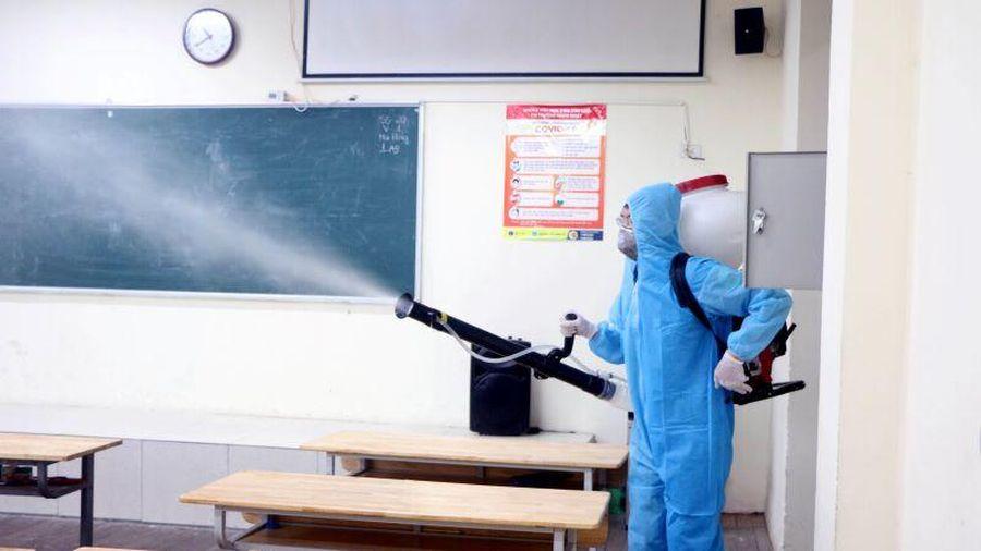 Những việc cần làm ngay sau khi đón học sinh trở lại trường