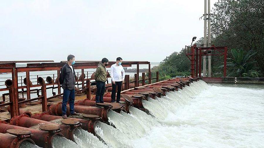 Các hồ thủy điện xả nước phục vụ gieo cấy vụ đông xuân