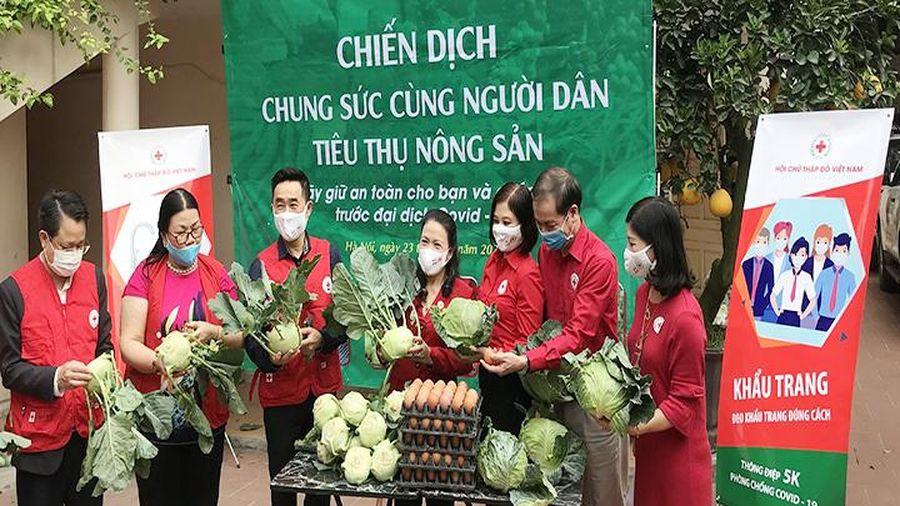 Hỗ trợ tiêu thụ nông sản cho người dân vùng dịch