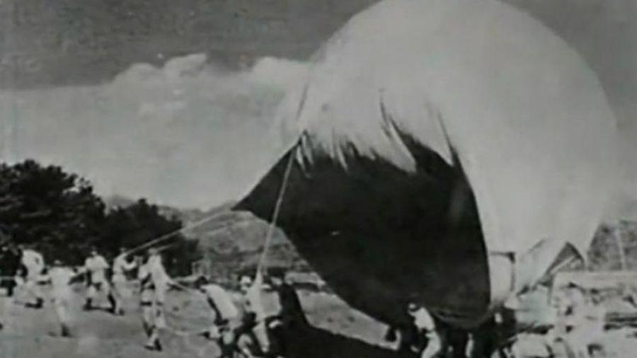 Phát xít Nhật dùng 9.000 quả bom khinh khí cầu oanh tạc nước Mỹ