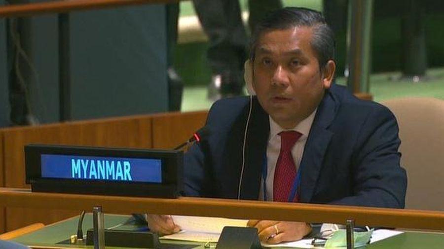 Bị sa thải vì 'phản bội đất nước', đại sứ Myanmar tại Liên hợp quốc thề chiến đấu tới cùng