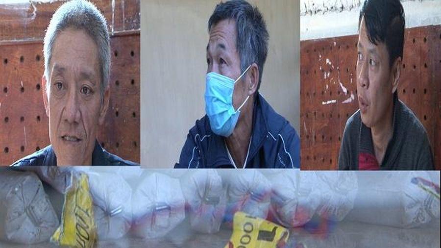 Lai Châu: Bắt giữ 3 người đàn ông mua bán trái phép 13kg thuốc nổ công nghiệp