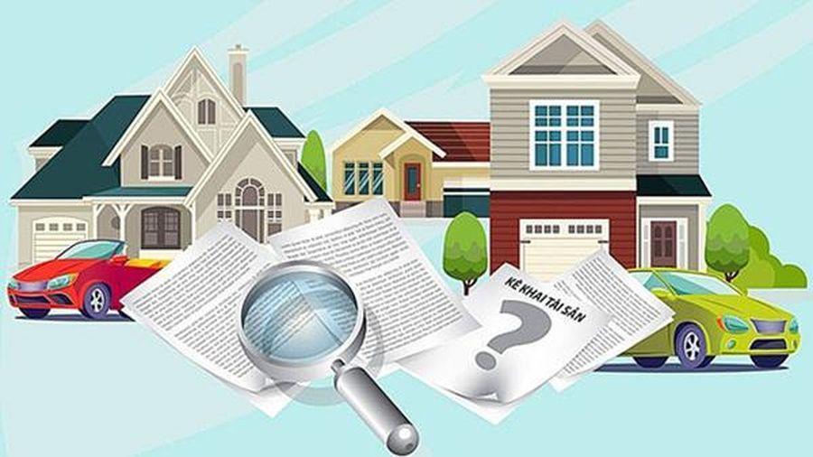 Ngày 31/3, hạn chót hoàn thành kê khai tài sản theo quy định mới