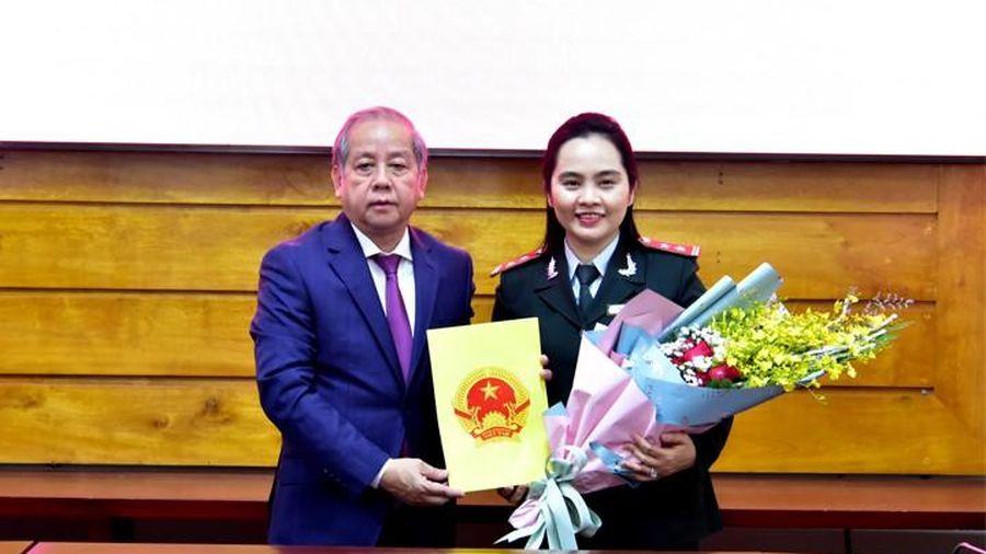 Bổ nhiệm hai Phó chánh Thanh tra tỉnh TT-Huế