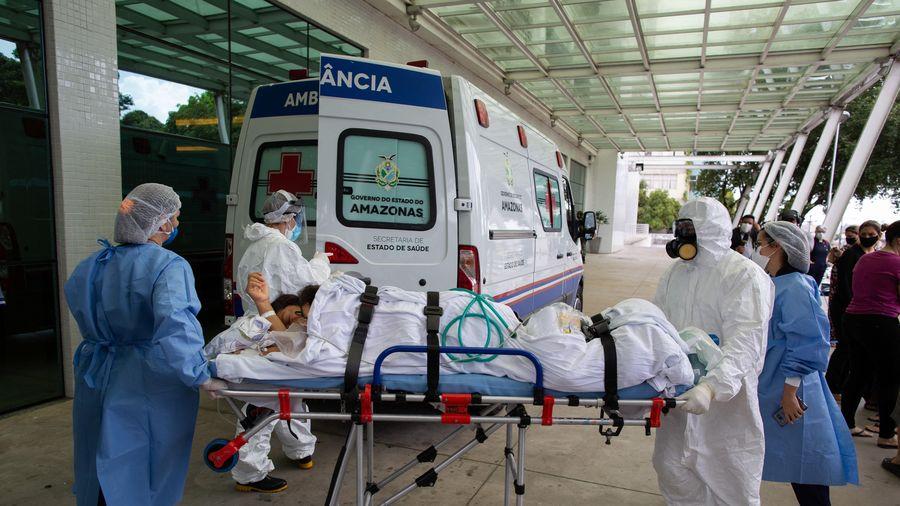 Dịch COVID-19: Mỹ, Brazil, Mexico có nhiều ca tử vong nhất trong ngày