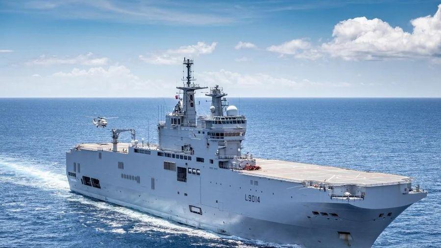 Tại sao Pháp gần đây cử một số chiến hạm tới Biển Đông?
