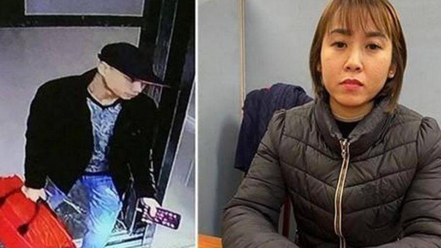 Biết chồng bị bắt, vợ ném ma túy từ chung cư cao cấp xuống đất hòng tẩu tán