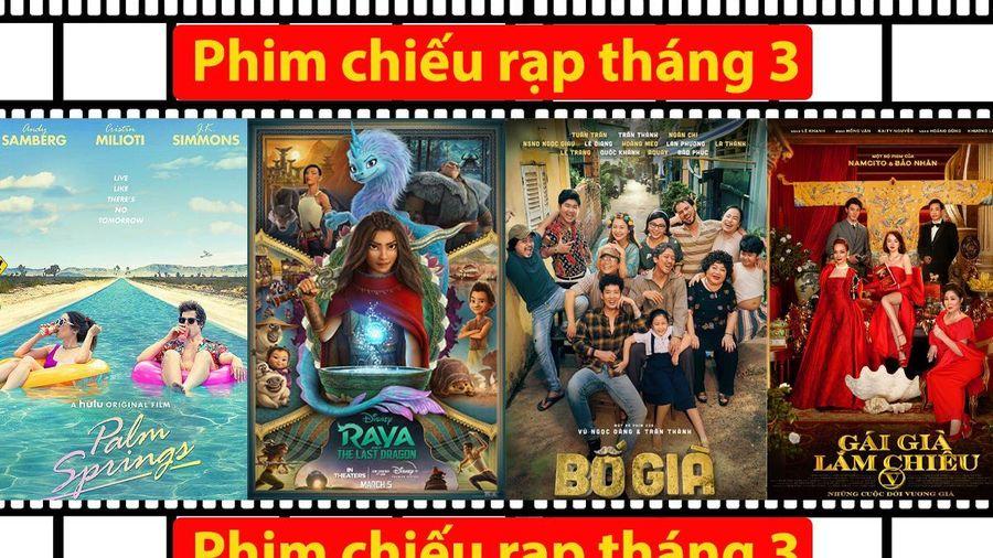 Phim chiếu rạp tháng 3:'Bố Già' và 'Gái Già' lên sàn, đụng độ ngay nàng công chúa Đông Nam Á của Disney