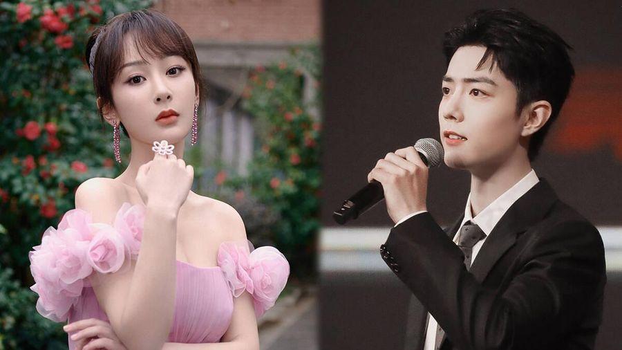 Tiêu Chiến sánh đôi cùng Dương Tử lên sân khấu nhận giải King - Queen Weibo 2020