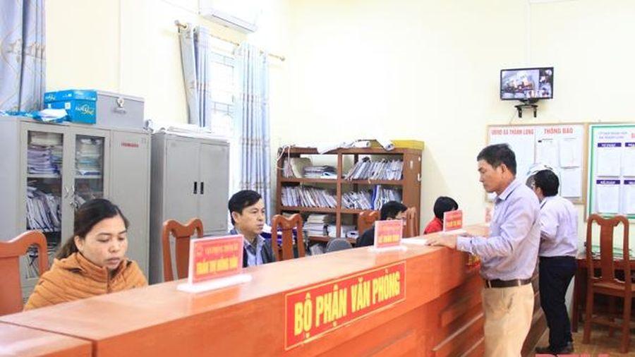 Đảng bộ xã Thành Long đổi mới phương thức lãnh đạo theo hướng gần dân, sát cơ sở