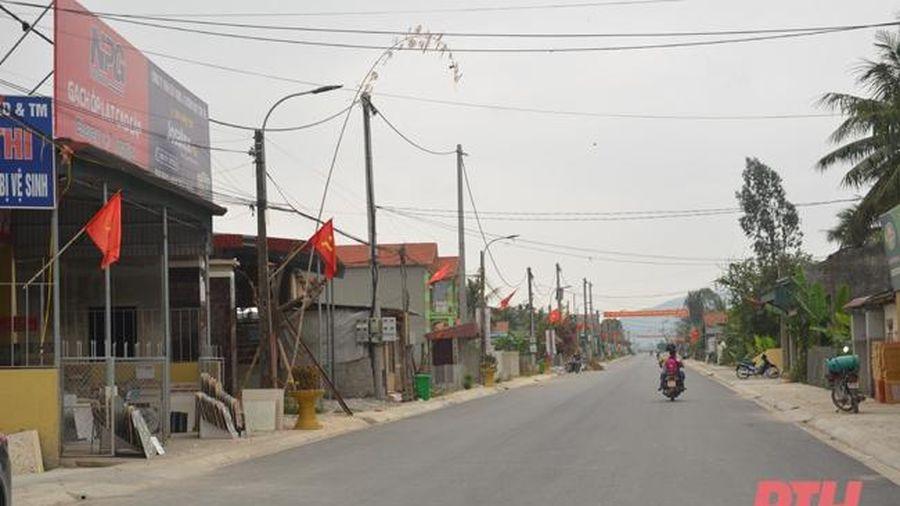 Huyện Hậu Lộc: Tháo gỡ khó khăn, gấp rút thi công các dự án thúc đẩy phát triển kinh tế - xã hội