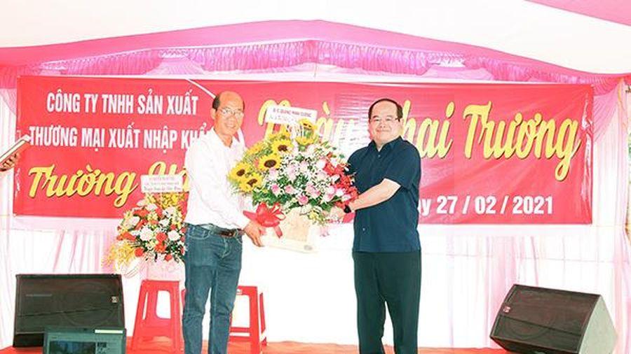 Khánh thành nhà máy chế biến nông sản tại huyện Xuân Lộc