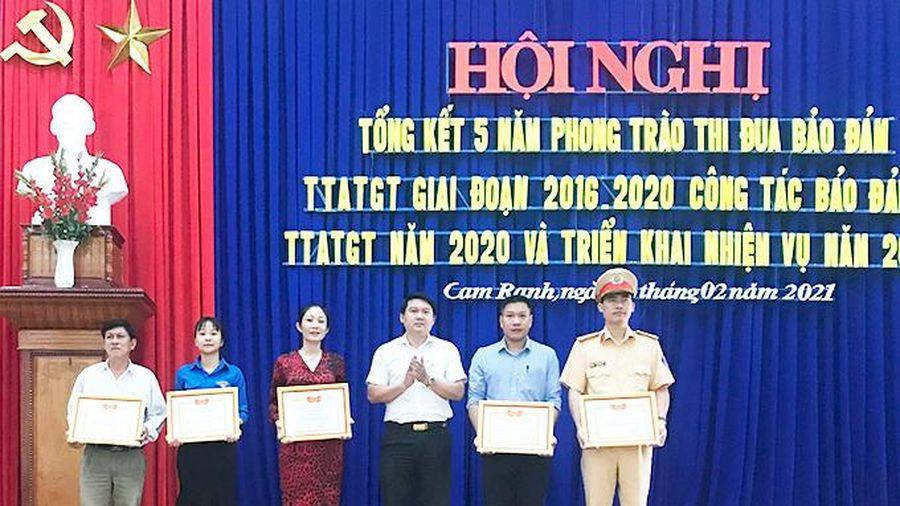Giai đoạn 2016 - 2020: Cam Ranh giảm cả 3 tiêu chí về tai nạn giao thông