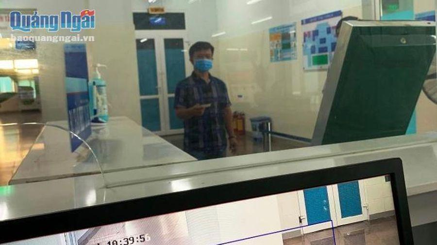 Bệnh viện Sản- Nhi tỉnh: Triển khai sử dụng hệ thống camera cảm biến thân nhiệt phòng, chống dịch Covid-19