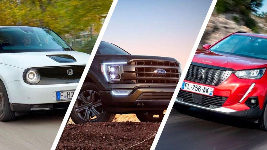 Những mẫu xe chiến thắng hạng mục 'Xe của năm dành cho nữ giới' năm 2021