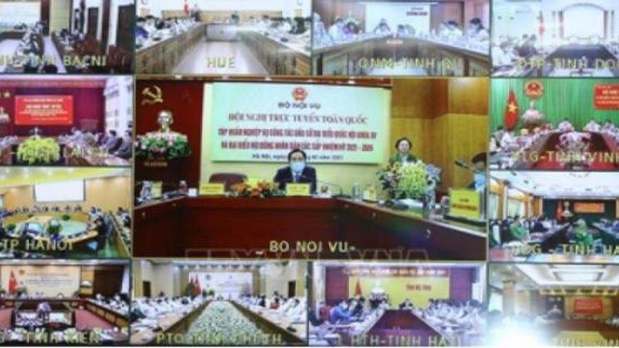 Quy trình giới thiệu ứng cử đại biểu Quốc hội khóa XV ở Trung ương