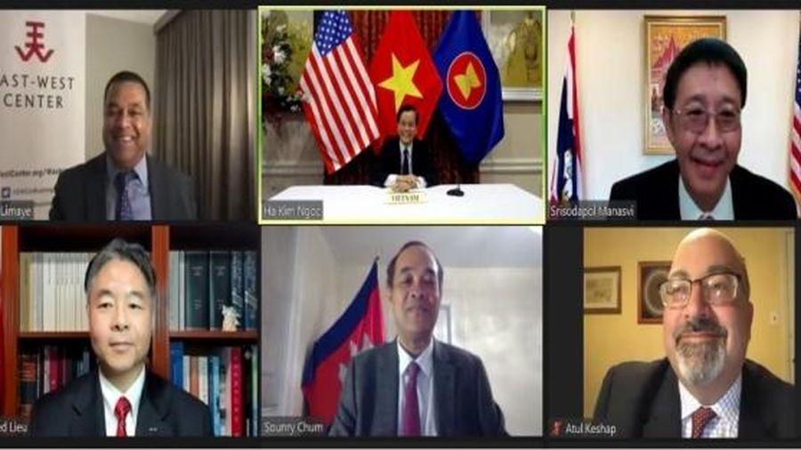 Việt Nam là thành viên có trách nhiệm trong nỗ lực chung ứng phó về môi trường tại tiểu vùng Mê Công