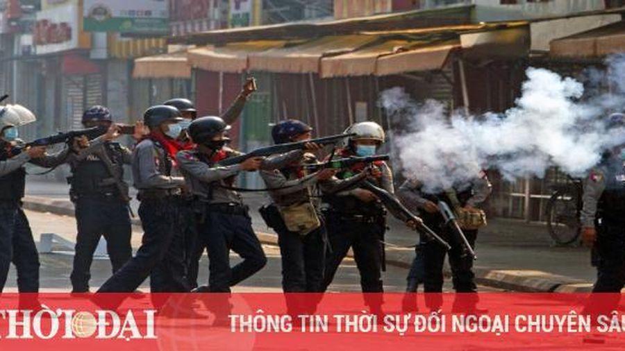 Myanmar: 4 người thiệt mạng khi cảnh sát nổ súng vào người biểu tình