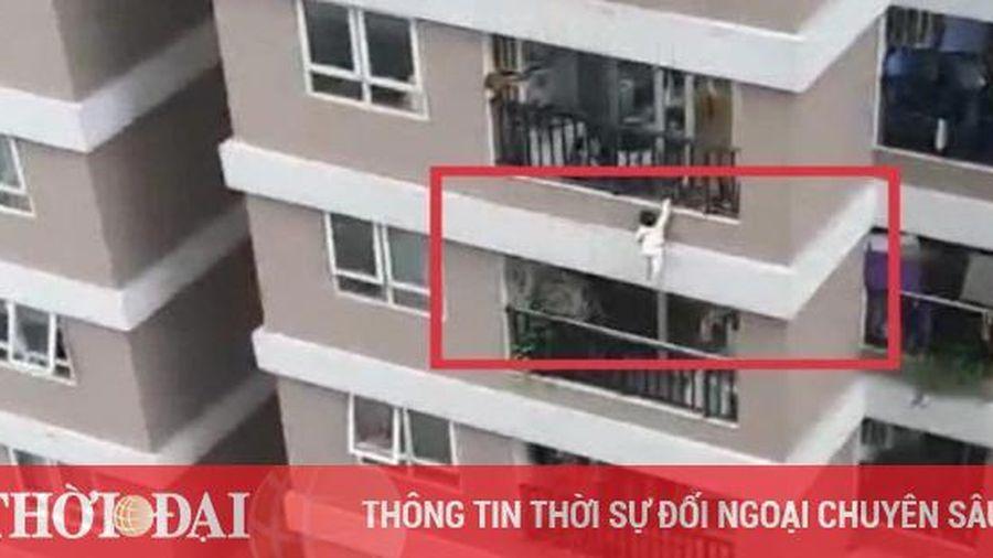 Nam thanh niên kể việc cứu bé gái 2 tuổi rơi từ tầng 13