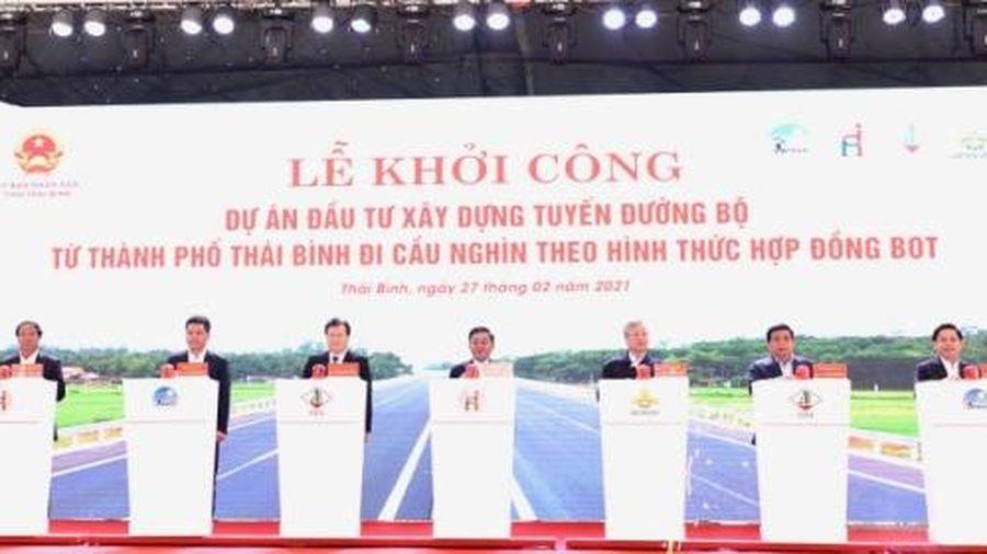Thái Bình có thêm 3 dự án, công trình trọng điểm hơn 6.000 tỷ