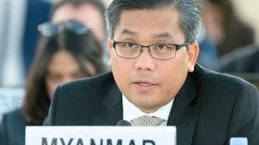 Đại sứ Myanmar tại Liên Hợp Quốc bị sa thải vì phản đối đảo chính
