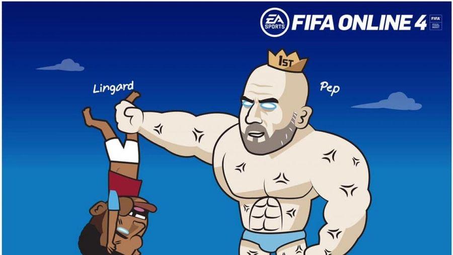 Biếm họa 24h: HLV Pep Guardiola 'trừng trị' Lingard