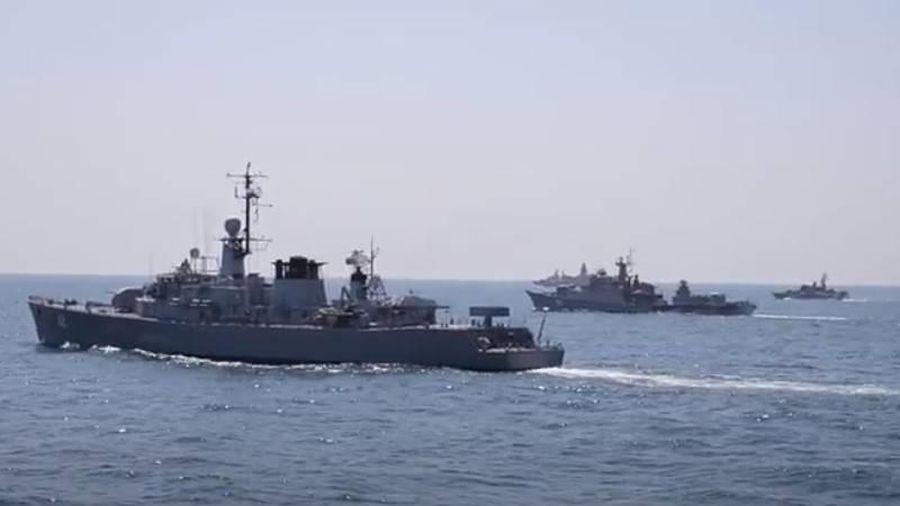 NATO tập trận hải quân quy mô lớn trên biển Đen
