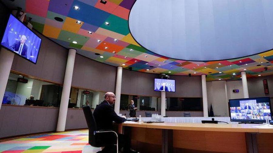 Hội nghị Thượng đỉnh trực tuyến EU: Thống nhất Chiến lược ứng phó đại dịch