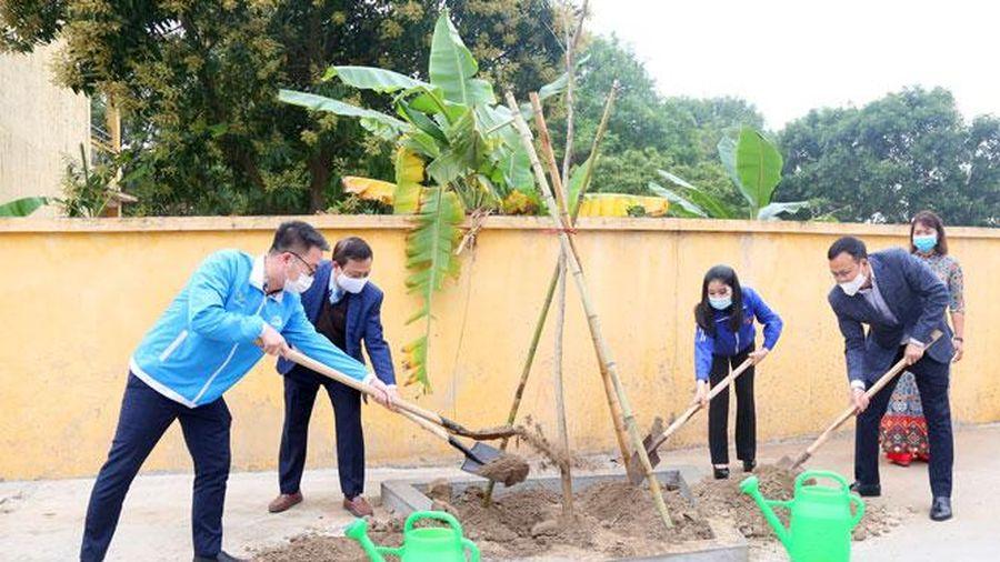 Tuổi trẻ Thủ đô đảm nhận trồng 90.000 cây xanh trong năm 2021