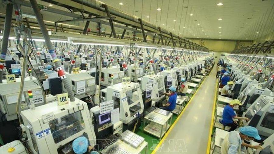 Việt Nam thu hút thêm 5,46 tỷ USD vốn đầu tư nước ngoài