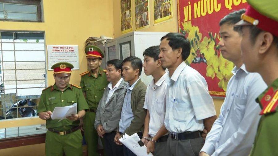 Nguyên giám đốc chi nhánh VP đăng kí đất đai TP Huế bị bắt