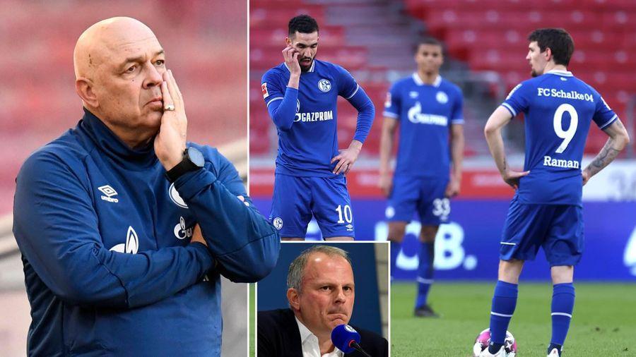 Giải quyết khủng hoảng, Schalke đuổi hết