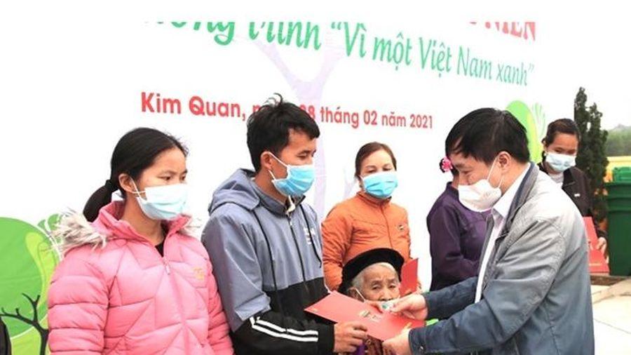 Đoàn Thanh niên cơ quan Ban Tổ chức Trung ương ra quân Tháng Thanh niên năm 2021 tại Tuyên Quang