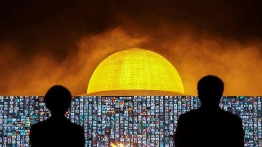 200.000 phật tử Thái Lan dự lễ chùa online