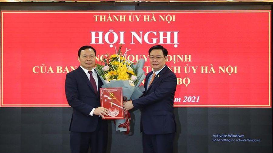 Bí thư Thành ủy Vương Đình Huệ làm việc với quận Đống Đa về nhiệm vụ trọng tâm năm 2021