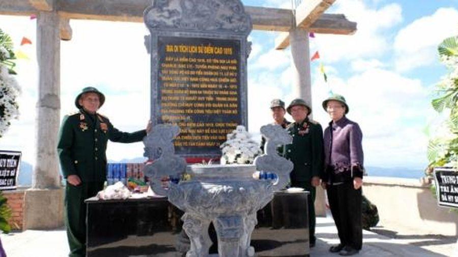 Lo ngại việc thăm dò khoáng sản cạnh khu di tích lịch sử