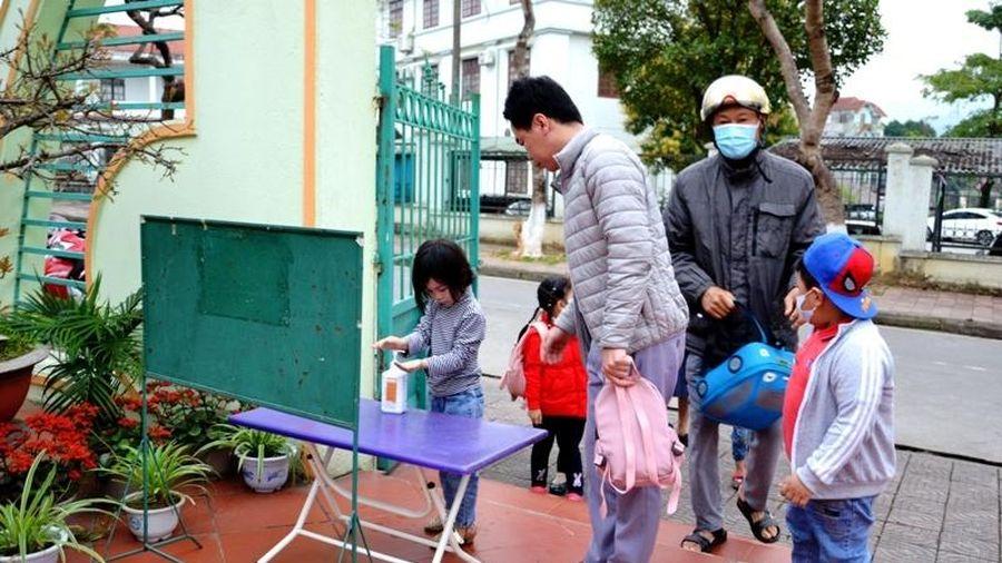 Lào Cai bảo đảm an toàn cho học sinh mầm non trở lại trường