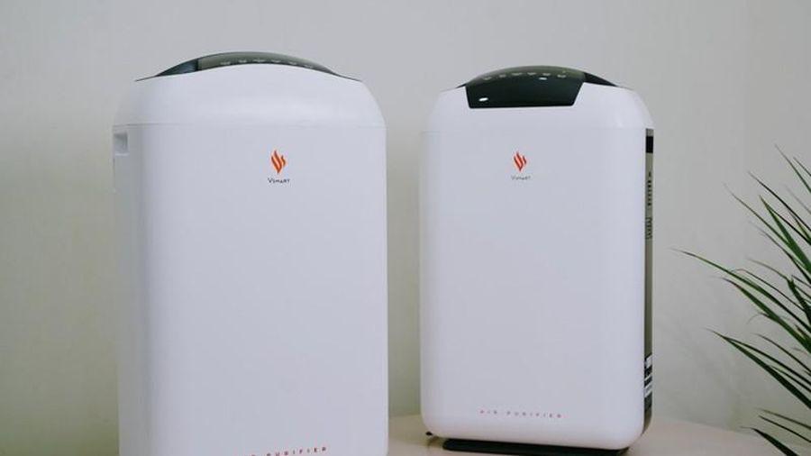 Máy lọc không khí 'Make in Vietnam' kết nối Wifi, điều khiển dễ dàng