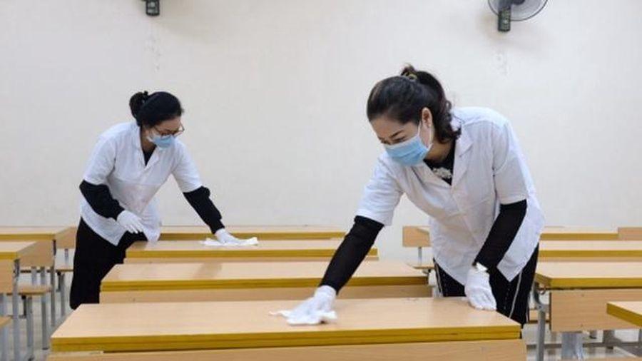 Thái Bình: Tạm thời không tổ chức tập trung HS toàn trường khi học trở lại