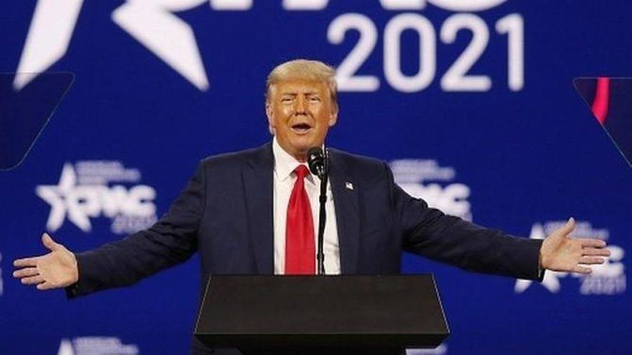 Cựu Tổng thống Mỹ Donald Trump tái xuất, trấn an đảng Cộng hòa và úp mở dự định tương lai?