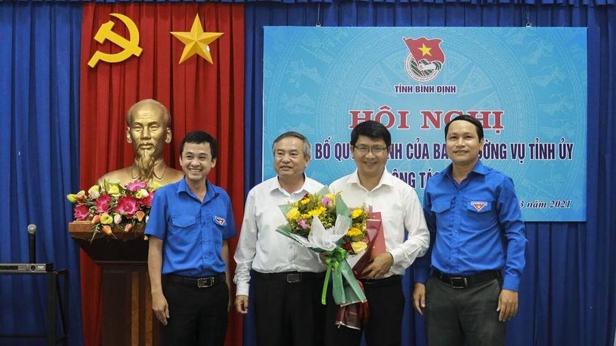 Phó Bí thư Tỉnh Đoàn Bình Định được điều động nhận nhiệm vụ mới