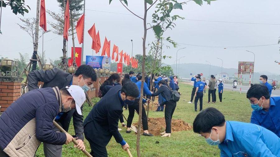 Hà Tĩnh ra quân tháng Thanh niên và Tết trồng cây