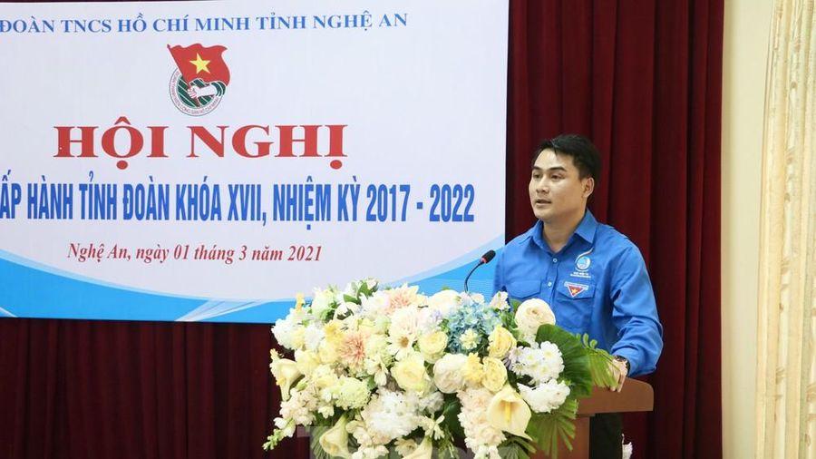 Anh Thái Minh Sỹ được bầu giữ chức Phó Bí thư Tỉnh đoàn Nghệ An