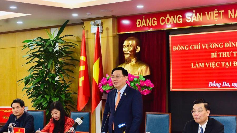 Bí thư Hà Nội: Dự án nào chiếm đất nhiều thì phải 'nói không'
