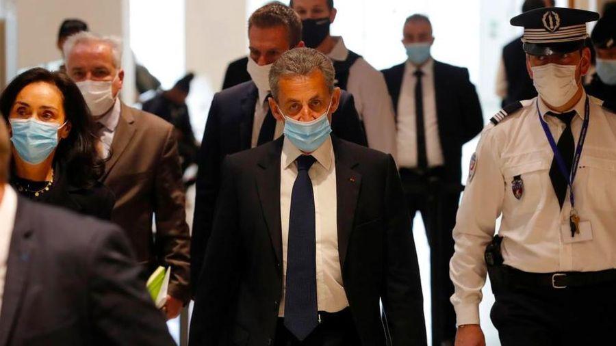Cựu tổng thống Pháp Sarkozy bị kết án 3 năm tù