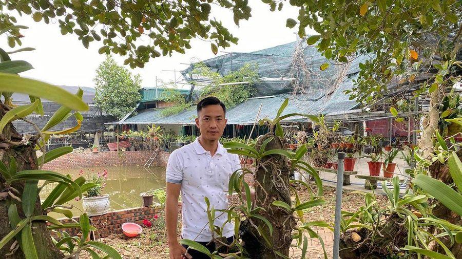 Câu chuyện đi từ thất bại đến thành công của ông chủ vườn lan Sỹ Trần