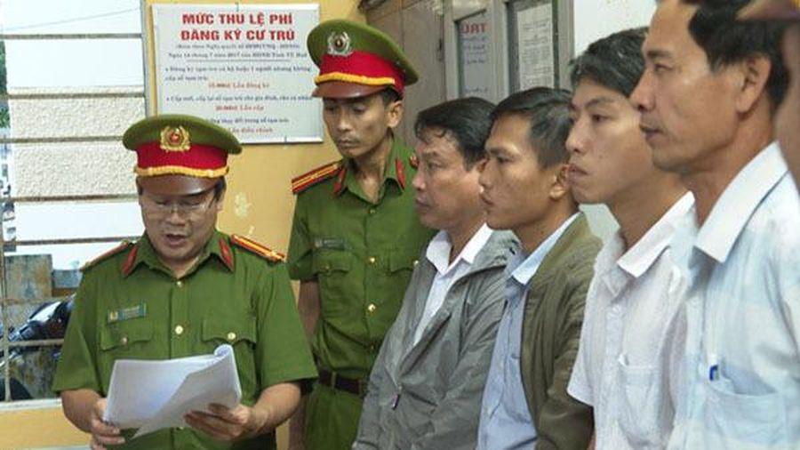 Ký khống giấy tờ, nguyên Giám đốc Văn phòng đăng ký đất đai TP Huế bị bắt