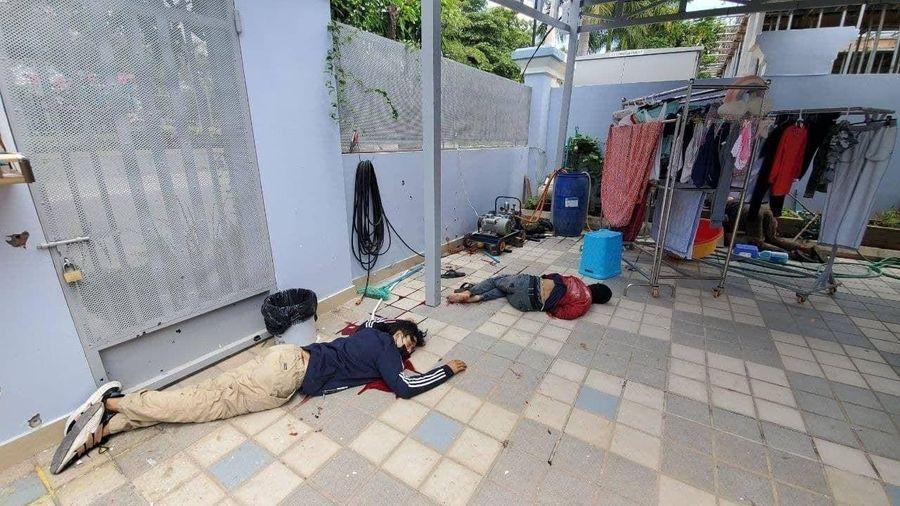 Lực lượng Hiến binh Campuchia tiêu diệt tại chỗ 4 đối tượng bắt cóc