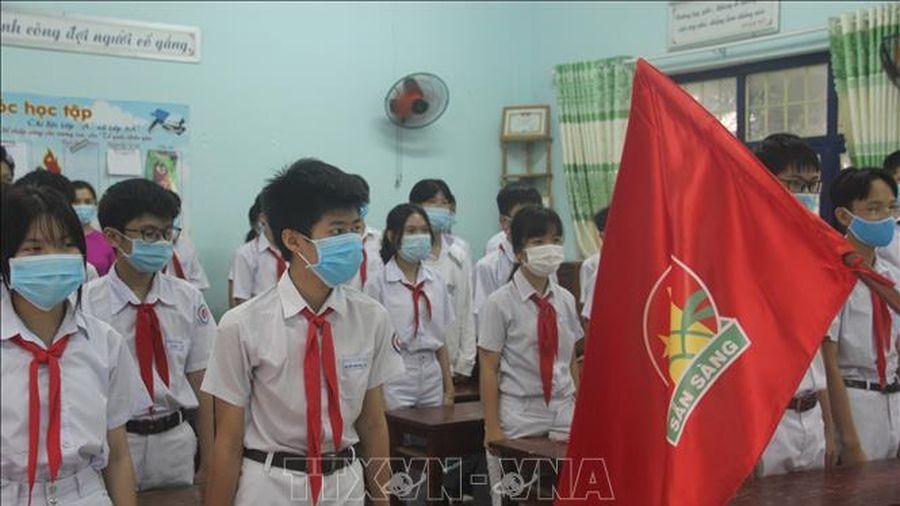 Bình Định đảm bảo an toàn dịch COVID-19 khi học sinh trở lại trường