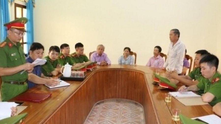 Nghệ An: 4 cán bộ thôn lập khống hồ sơ bồi thường GPMB bị khai trừ Đảng